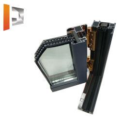 단열적 맞춤 목재 입자 분말 코팅 산화 전기영동 표면 마감 윈도우 및 도어용 알루미늄 프로필