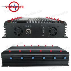 CDMA 450MHz RC315MHz GPS L1 L2 L3 이동 전화 신호 방해기 12 RF 신호 셀룰라 전화 가습기