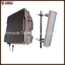 Resistente al agua de alta potencia 300W con 9 canales de la cárcel de tipo fijo de 2G/3G/4G/5g celular señal WiFi Jammer rompedor de señal