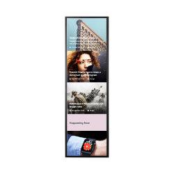 kiosk van de Vertoning van 1000 Neten van 2cm LCD de Draagbare Androïde Uitgerekte voor Staven