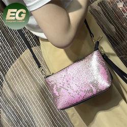 Le GGE6152 Factory femmes gros sac de peau de serpent en cuir véritable pochette étanche de téléphone cellulaire