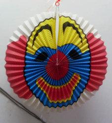 Linterna de papel Papel Lampshade Halloween Halloween Decoración de colgar la lámpara de papel