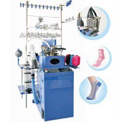 Fertigung-Fabrik-automatische computergesteuerte kreisförmige normale Socken, die Geräten-Korea-Baumwolle Strickmaschine-Preis-Textilmaschine hart treffen lassend nähen