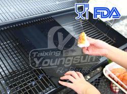 붙지 않는 BBQ 석쇠 매트 음식 종이를 요리하는 안전한 굽기 매트