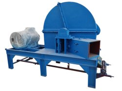 Casa dell'iarda della lamierina del disco la piccola ha fatto lo sfibratore di legno con alta efficienza