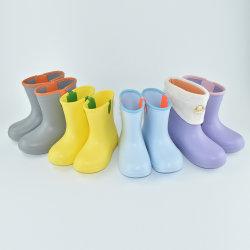 Детский зимний EVA снег теплый подкладка обувь или водонепроницаемые чехлы от дождя