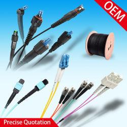 LC de haute qualité, Sc, St, FC, MPO cavalier fibre optique de fibre optique Cpri Outdoor étanche cordon de raccordement à fibre optique