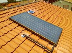 Sudáfrica colectores solares de Panel Plano de convertir el géiser de Gas, Eléctrica géiser en el géiser Solar