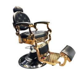De gouden Op zwaar werk berekende Uitstekende Apparatuur van de Salon van de Stoel van de Salon van de Stoel van de Kapper voor Verkoop