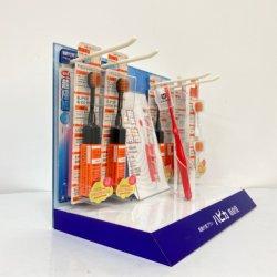 Commerce de détail Tableau acrylique de présentoir Présentoir de brosse à dents avec logo personnalisé Affichage Perspex
