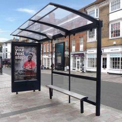 Im Freienmöbel-MetallEdelstahl-Bushaltestelle-Schutz für Verkauf