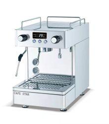 K101t Halbautomatische Espresso Kaffeemaschine Espresso Edelstahl Abdeckung Italien Design 2 Brew Head 1steam Wand 1 Tap Kaffeemaschine