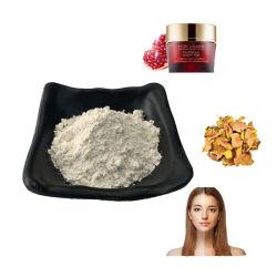 化粧品で使用される自然なハーブのザクロの皮エキスの粉98%のEllagic酸
