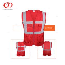Populaires Hi Visibilité Gilet de sécurité réfléchissant Veste Workwear avec poche