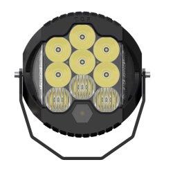 """9"""" со светодиодной подсветкой рабочего освещения автомобиля погрузчик работает 9 дюймовый 150W круглый светодиодный индикатор дальнего света с по просёлочным дорогам DRL E-MARK светодиод выключен дорожных фар дальнего света лазера"""