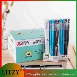 Commerce de gros Gel effaçable Pen 0.5mm étudiant de l'École de l'écriture de fournitures de papeterie