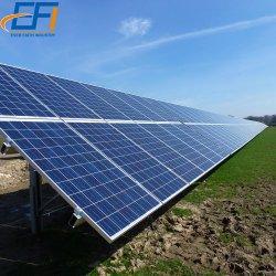 2 MW Solar Ground pv السعر قابل للضبط الصلب pv هيكل لولبي لولبي لركام الحامل الأرضي بالطاقة الشمسية