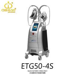 2016 Grasa de excepcional belleza adelgazamiento Cryolipolysis de congelación rápida de la máquina con el resultado (ETG50-4s/CE)