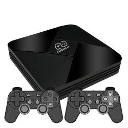 Gran juego de la venta de la casilla G5 S905L WiFi de alta definición 4K de la consola Super X 50 40000 Emulador de juegos retro TV Box reproductor de video juego para PS1/N64/DC