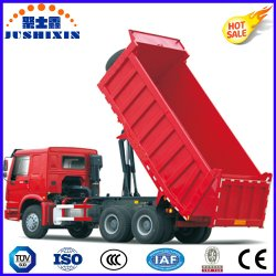 La Cina Dongfeng Shacman HOWO Sinotruck 8/10/12 di autocarro con cassone ribaltabile di capovolgimento di dumping posteriore utilizzato resistente dello scaricatore del ribaltatore delle rotelle 4X2 6*4 8*4 con il prezzo più basso