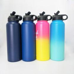 Verschiedener Kappen-Vakuumsport-trinkender Flaschen-Kolben