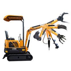 Nuova 1 tonnellata 1.5 tonnellate escavatore della copertura superiore del caricatore di escavatore da 2 tonnellate da vendere