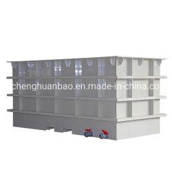 Tanque de electrodeposição química, o tanque de água de PP