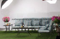 Presidenza di randello di sinistra pranzante esterna del braccio di Azusa della mobilia stabilita della fusion d'alluminio
