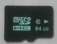 Capacidade de 64 GB Micro SD TF Classe de cartão de memória 10 64GB Flash Micro SD HC Cards