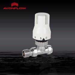 Les vannes thermostatiques de radiateur de refroidissement automatique avec capteur de liquide