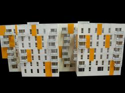 El modelo arquitectónico Maker de escala la construcción de viviendas (JW-394)