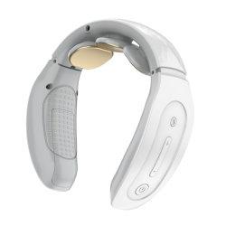 Nekstimulator met warmte, intelligente draadloze draagbare 4D-nekmassage-apparatuur, Deep Tissue Massage Trigger Point voor kantoor, thuis, sport, reizen