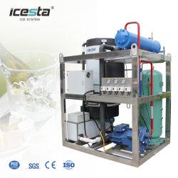 ماكينة ثلج Icesta 5t Tube للتبريد بالمياه