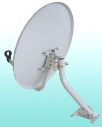 Televisione via satellite Dish Antenna di Ku Band Offset 60cm Outdoor