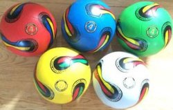 Promotion를 위한 고무 Soccer Ball