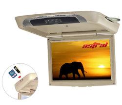 Montage sur toit de voiture de 17 pouces Moniteur LCD TFT Lecteur de DVD