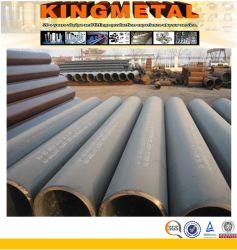 Souder en spirale de grand diamètre des tuyaux et tubes en acier