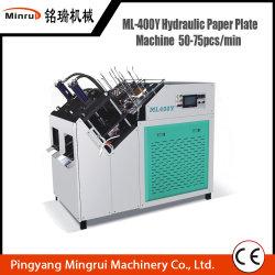 Papel hidráulico da máquina de formação da placa tigela de papel máquinas