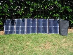 Le pliage 100W Chargeur Panneau solaire portable pour la maison