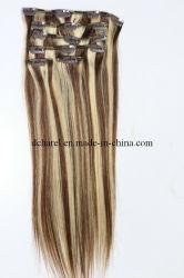 100% من الشعر البشري المُجدَّد على امتداد الشعر (BHF-CP005)