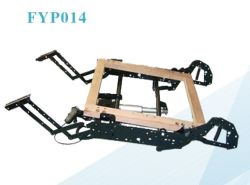 Handmatig en elektrisch mechanisme voor de bekleding van de sofa