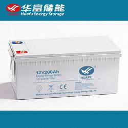 12 V/200 Ah VRLA/AGM/Gel Deep Cycle Lead-Acid MF SLA Energystorage UPS/Backup Solar Voeding batterij