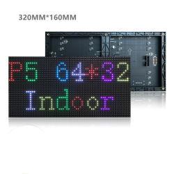 Modulo PCD LED SMD senza driver RGB piccolo ad alta potenza Display LED 10W 32X16 Dots P5 per pannello da interno