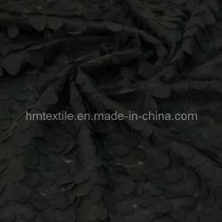Ontwerpen van het Borduurwerk van het Patroon van het Blad van de chiffon 3D voor Bruids Decoratie