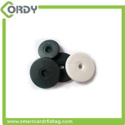 Disco disco ABS NFC RFID da etiqueta de token para metais
