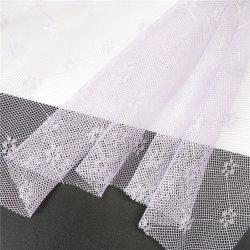 Polyester-Jacquardwebstuhl-Moskito-Filetarbeits-Tulle-Ineinander greifen-Gewebe für Moskito-Netz