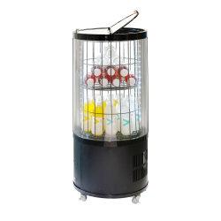 Kommerzieller transparenter Bildschirmanzeige-Getränkekühlraum-kühlere Getränk-Förderung-Zweck-bewegliche Zylinder-Kühlvorrichtung