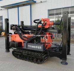 180m draagbare rupsmachine hydraulische DTH-boorput voor rotswater Boormachine