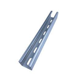 Elettrico acciaio scanalato singolo puntone della Manica HDG/Galvanized di C