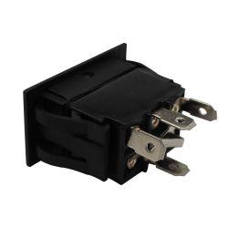 Interruttore automatico SPST 4p interruttore a bilanciere 12V 20 AMP impermeabile LED rosso on-off-on con luce - LED rosso-giallo